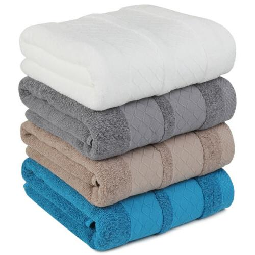 Thick and Plush Solid Bath Super Soft Sheet