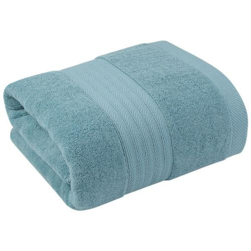 Thick Plush Solid Bath Soft Extra Absorbent Sheet