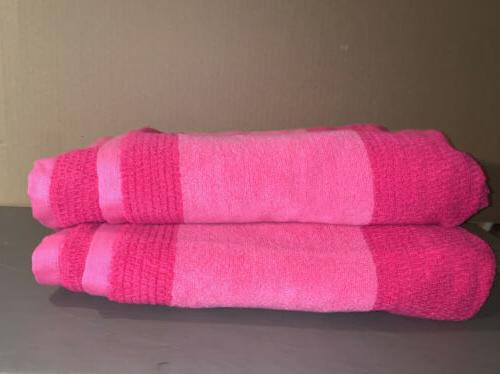 """Lacoste Match Pink Magenta 30"""" 52"""" Large"""