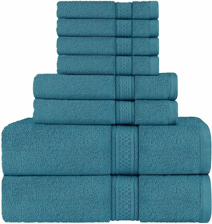 towel set 8 piece set bath towel