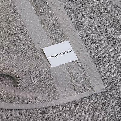 Qute Towels Turkish Cotton Gray Towels Absorbent
