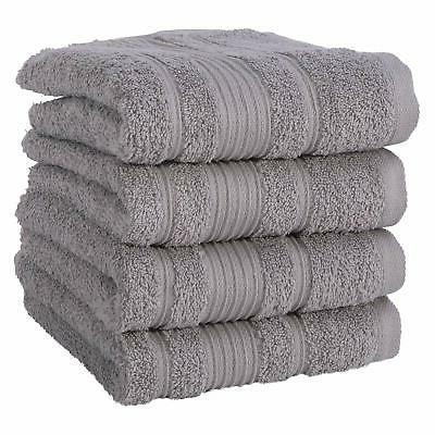 towels 100 percent turkish cotton gray hand