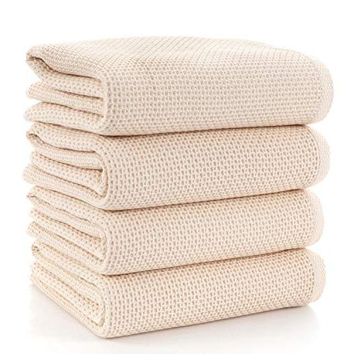 towels waffle weave drying cotton