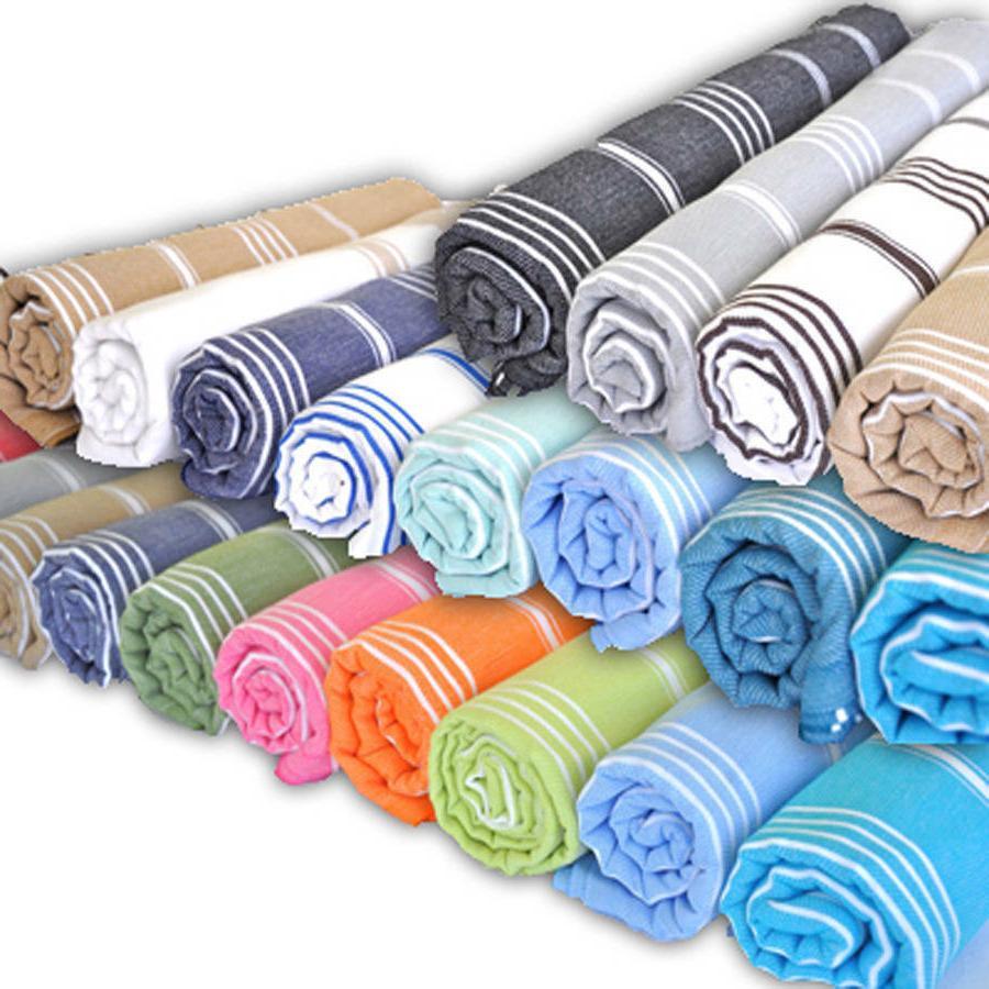 Turkish Bath Towel Cotton Large Fast Dry Peshtemal Beach Pic