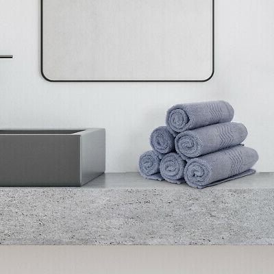 Ultra Soft and Absorbent Bath Towel Hotel Towels Set 100% Pl