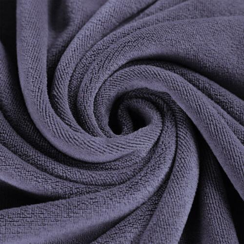Large Microfiber Bath Towels Soft Spa Travel Towels