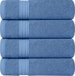 Premium Large Hand Towels 700 GSM Cotton 4 Pack 16 x 28 Inch