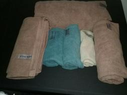 LG LOT of Norwex Bath Towels, Bath Mat & Body Cloth SOME DIS