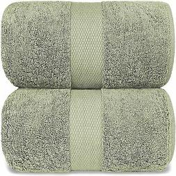 Luxury Bath Sheet Towels Extra Large | 35x70 Inch | 2 Pack,