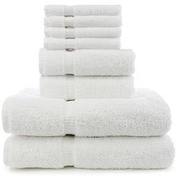 8 Piece Turkish Luxury Turkish Cotton Towel Set - Eco Friend