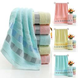 Luxury Cotton Soft Towels Face Hand Bath Bathroom Towels She