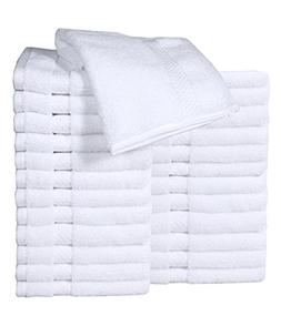 HomeLabels Luxury Cotton Washcloth Towel Set  Zero Twist, Mu