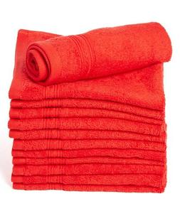 Goza Towels Luxury Cotton Wash Cloths  Easy Care, Fingertip