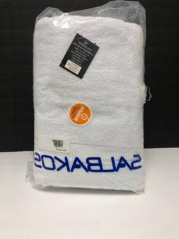 SALBAKOS Luxury Hotel and Spa Bath Towels 100 Percent Genuin