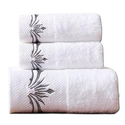 Luxury Hotel Cotton 900 GSM 3PCS Bath Towels Sets;1 Large Ba