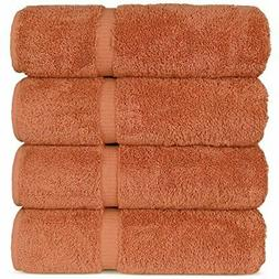 Luxury Hotel & Spa Bath Towel Turkish Cotton, Set of 4