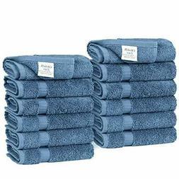 Luxury Hotel & Spa Towel 100% Turkish Cotton Wash Cloth  Wed