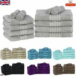 Luxury Towels Bale Set 100% Egyptian Cotton Soft Bath Hand 5