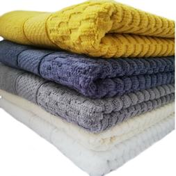 Luxury Towels Hotel Quality 100% Sheared Cotton Soft Towel H