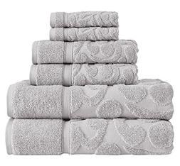 SALBAKOS Luxury Turkish Terry Cotton Bath Towel Set - Sculpt
