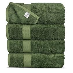 Chakir Turkish Linens Luxury Ultra Bamboo 4-Piece Bath Towel
