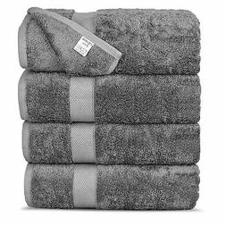 Chakir Turkish Linens Luxury Ultra Soft Bamboo 4-Piece Bath