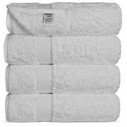 Chakir Turkish Linens Luxury Ultra Soft Bamboo 4-Piece Set A