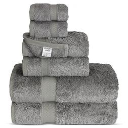 Chakir Turkish Linens Luxury Ultra Soft Bamboo 6-Piece Towel