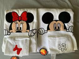 Mickey And Minnie Bath Towels
