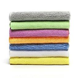Microfiber Face Towels Washcloths  - Soft, Fast Drying Clean