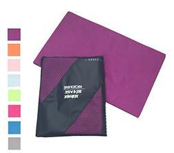 Exerz Microfiber Extra Large XL Travel Towel/Sports Towel  -