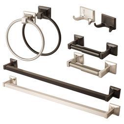 Modern Bathroom Hardware Set Bath Accessories Towel Bar Ring