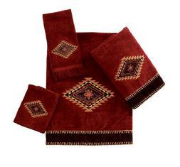 Avanti Linens Mojave   Embroidered 4-Piece Decorative Towel