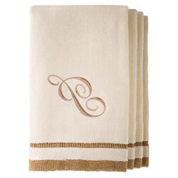 Monogrammed Gifts, Fingertip Towels, 11 x 18 Inches - Set of