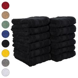 NEW BLACK Color ULTRA SUPER SOFT LUXURY PURE TURKISH 100% CO