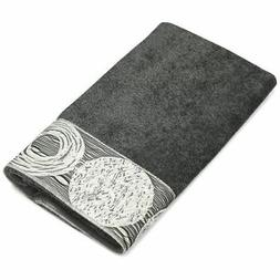 New Avanti Linens Galaxy Hand Towel, Granite