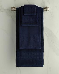 New Ralph Lauren Pierce Bath Towel Navy Blue 30 x 56 in