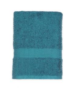 New Single Teal Bath Towel 100% Cotton Bathroom Bathing Fade