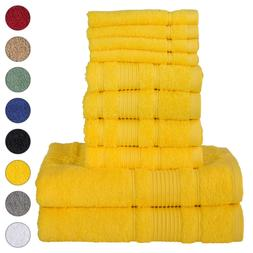 NEW YELLOW Color ULTRA SUPER SOFT LUXURY PURE TURKISH COTTON