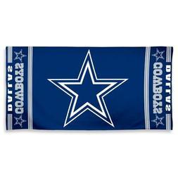 """NFL Dallas Cowboys A1874215 Fiber Beach Towel, 9 lb/30"""" x 60"""