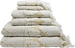 Nysa 100-Percent Genuine Turkish Cotton Floral Ornament Jacq