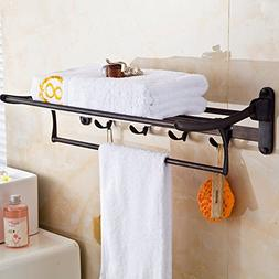 ELLO&ALLO Oil Rubbed Bronze Towel Racks for Bathroom Shelf w