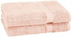 Pinzon Organic Cotton Bath Sheet , Pale Peach