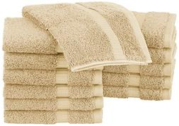 Pinzon Organic Cotton Washcloths , Sand