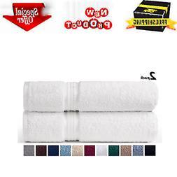 Oversized Bath Towels Set of 2 Extra Large Cotton Linens Bea