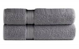 Oversized Bath Towels Sheets Charcoal Extra Large Soft Cotto