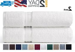 Oversized Bath Towels Sheets Extra Large Soft Cotton  35x70