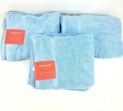 "Opalhouse Perfectly Soft Placid Blue Bath Towels 30"" x 54"" S"