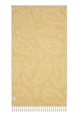 Lushrobe Peshtemal Beach Towel Lightweight 100% Cotton Fouta