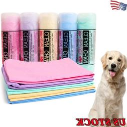 Pet Dog Cat Bath Towels Pet Supplies Quick-dry Cleaning Pet